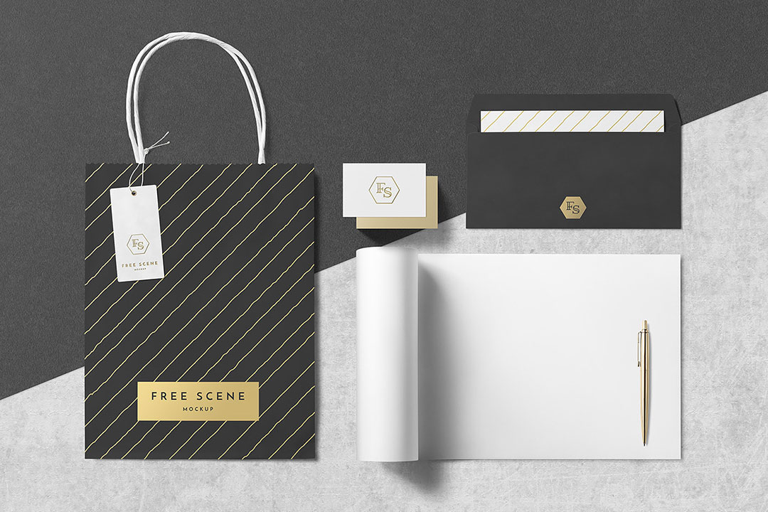 Branding Stationery Mocku