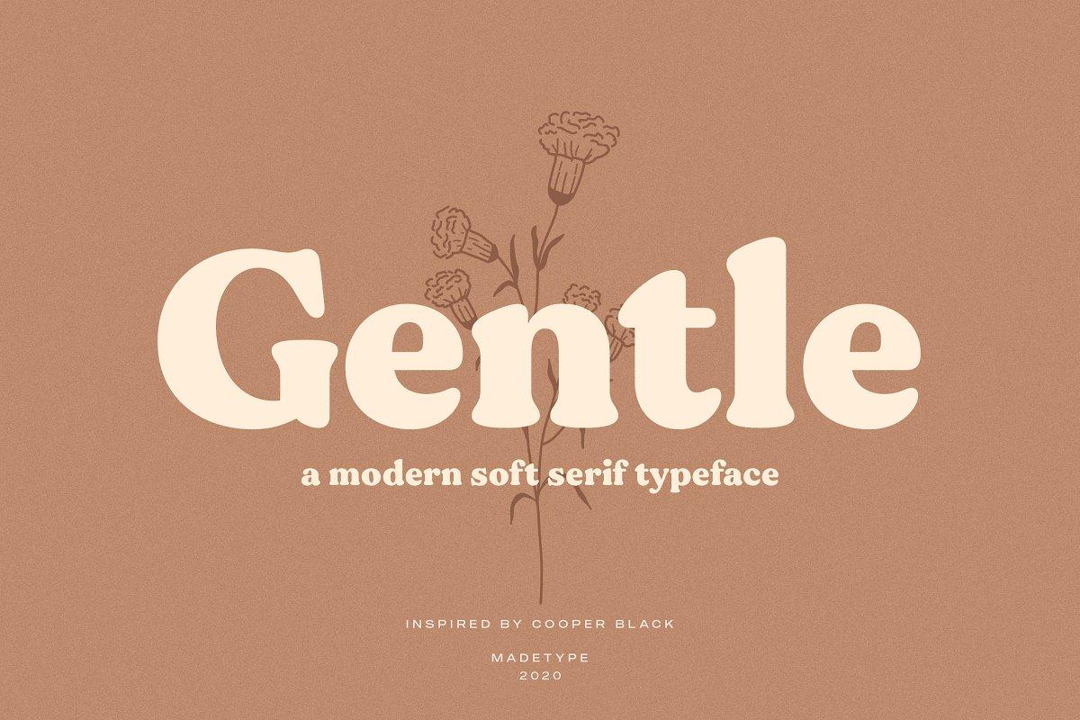 Gentle Modern Font